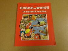 STRIP HET NIEUWSBLAD / SUSKE EN WISKE ONGEKLEURD N° 48 - DE SISSENDE SAMPAM