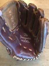 "Spalding ""The Youngstar Model"" Baseball Glove 2-Toned Rht # 42-8425"