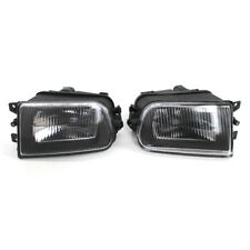 Clear Fog Lights Bumper Lamps for 97-00 BMW E39 528i 540i 1997-2001 Z3 ABS