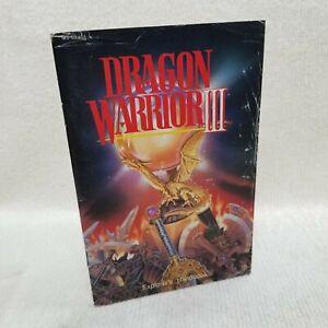⭐Dragon Warrior III 3 NES Explorers Handbook Manual ONLY NO GAME⭐👀
