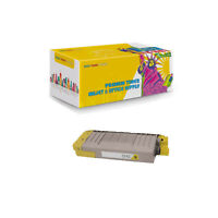 1 x 43866101 Yellow Compatible Toner Cartridge for Okidata C710