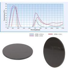 ZWB2 Ultraviolet UV Band Pass Filter UV Flashlight Diameter 42mm Thickness 1.9mm