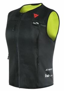 Dainese Smart Jacket D-Air Lady sw/gelb