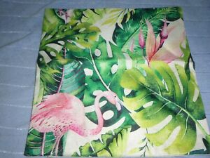 Brand New Cushion Cover Flamingo