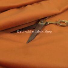 Telas y tejidos color principal naranja de terciopelo para costura y mercería