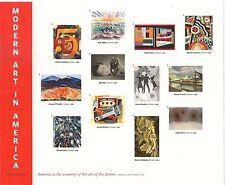 US 4748m Modern Art in America 1913-1931 imperf NDC sheet MNH 2013
