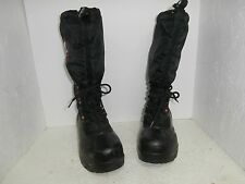 Womens Sorel Boots Black/Red Left Size 8 Right Size 9 USED!!!