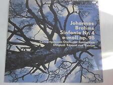 Brahms -Sinfonie Nr. 4 e-moll op. 98- (Eduard van Beinum) LP Eterna black