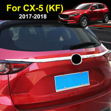 For Mazda Cx-5 Cx5 2017 2018 Chrome Rear Trunk Lid Cover Tailgate Trim Molding