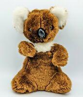 "Vtg Knickerbocker Animals of Distinction Plush/Stuffed Koala Bear 10"" Rare"