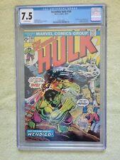 Cgc 7.5 Hulk #180 Wolverine cameo
