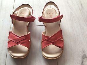 Girl's Clarke's Sandals. Size 2F Junior. Excellent Condition