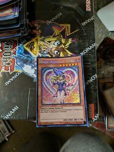 YUGIOH - Dark Magician Girl - MVP1-ENS56 - Secret Rare-1st Edition - NM/M
