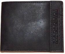 Portafoglio Uomo Nero Napapijri Wallet Men Black N6z05
