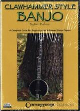 Clawhammer Style Banjo Tuition 2 DVD Set Ken Perlman