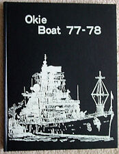 USS OKLAHOMA CITY CG-5 WESTPAC 1977-1978 CRUISE BOOK OKIE BOAT 77-78 EXCELLENT