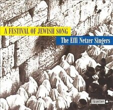 A Festival of Jewish Song by Effi Netzer (CD, Oct-1997) Free Ship #GP87