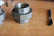 """MSS SP114,1 1/2"""" Coupling, Split Union Stainless, 150PSI   NEW"""