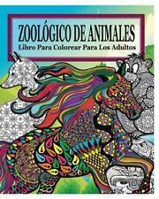 Zoologico de Animales Libro para Colorear para Los Adultos by Jason Potash...