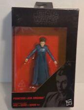 "Princess Leia Organa Star Wars Force Awakens Black Series 3.75"" Hasbro figure!"