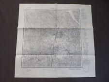 Landkarte Meßtischblatt 17100 Gurnen, Górne, Ostpreußen, Polen, 1936