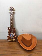 Woody Doll Guitar & Hat Replacement Toy Story Disney Pixar Hasbro 2001
