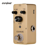 CUVAVE FUZZ Zinc Alloy Guitar Effect Pedal with True Bypass