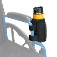 Cup Holder Beverage Bottle Drink Storage for Wheelchair Knee Walker Stroller