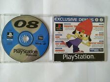 Official UK PlayStation 1 Magazine Demo 8 08 Vol 2 ~ PaRappa The Rapper OddWorld