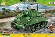 BRICKS COBI 2515 SMALL ARMY SHERMAN FIREFLY TANK 500 ELEMENT new
