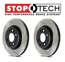 For Toyota Tundra Set Front Left & Right StopTech Sportstop Slotted Brake Rotors