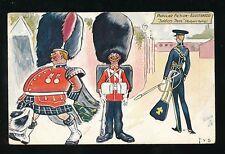 Military Army Soldiers Three Tuck Oilette #9097 Bradshaw 1907 PPC