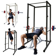 🔥Power Rack Squat Strength/Pull Up Rack Cage Crossfit Stands Home Gym