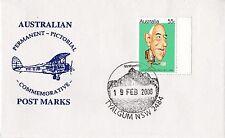Permanent Commerative Pictorial Postmark - Tyalgum 19 Feb 2008 - 55c