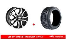 Alloy Wheels & Tyres 6.5x16 Team Dynamics Scorpion  + 2156516 Economy Tyres