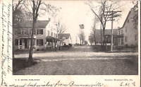 C. 1905 Brunnerville Pennsylvania Postcard Town Square Dirt Road Street View PA