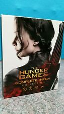 THE HUNGER GAMES COMPLETE 4-FILM COLLECTION BLU-RAY BOX SET - FREE POST
