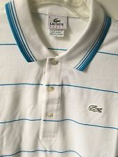 Lacoste Polo men's cotton pique shirt, size XXL, NWT, Yarn-dyed