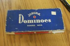 Vintage box of Magna Double Nine Dominoes