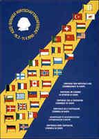 1990 Politik Bonn Bonner Wirtschaftskonferenz (mit Sonderstempel auf Postkarte)