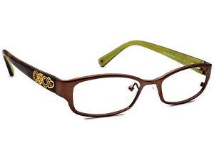 Coach Eyeglasses HC 5007 Willow 9046 Satin Brown Frame 50[]16 135