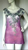 Miniabito Vestito Donna Abito Leggero Copricostume PARIS FASH. 401-A116 M/L L/XL