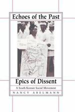 Echoes of the Past, Epics of Dissent (Paperback or Softback)