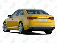 2016Up Audi A4 B8 Chrome Rear Trunk Tailgate Boot Grab Trim S.Steel