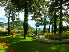 Paysage Italie Toscane Mer Lac Nappes Papier Peint-Capri Terrasse 952 V