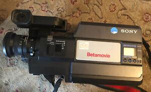Sony Betamovie BMC-550 Complete in Box & Working