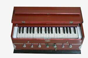 Neues Harmonium 7 Stopper Double Bellow 39 Key 440Hz Indisches Musikinstrument