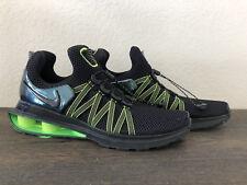 Nike Shox Gravity AR1999-003 Black Gorge Green Men's Running Shoes Sz 10