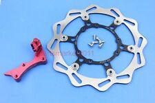 270mm Float Brake Disc Rotor CNC Bracket For Honda CR125/250 CRF250R/X 450R/X