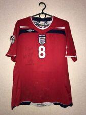 England Away football shirt 2008 - 2010 women #8 rare umbro